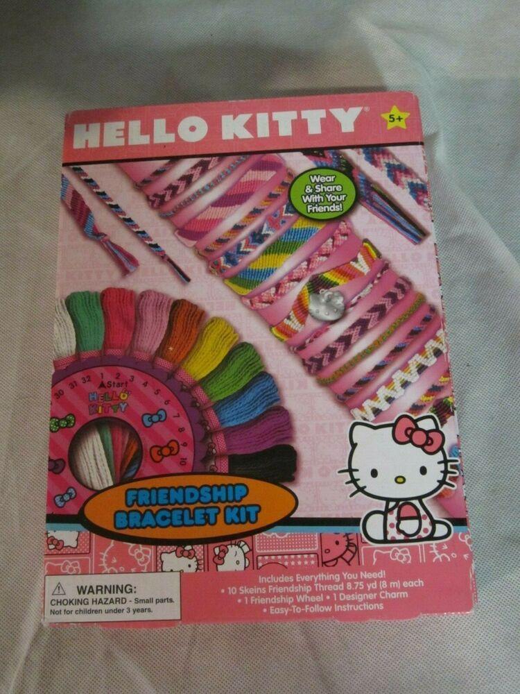 53eb6fd33 Hello Kitty Friendship Bracelet Kit Band New #hellokitty #craftsforkids  #crafts #ebay #