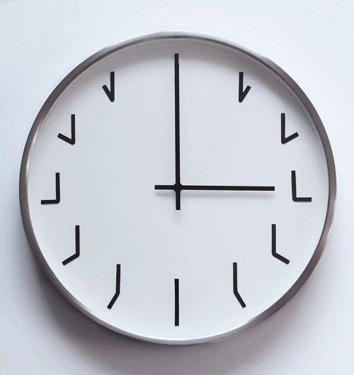 Que horas são? Quando o Design Jaeh iBahia clock Pinterest