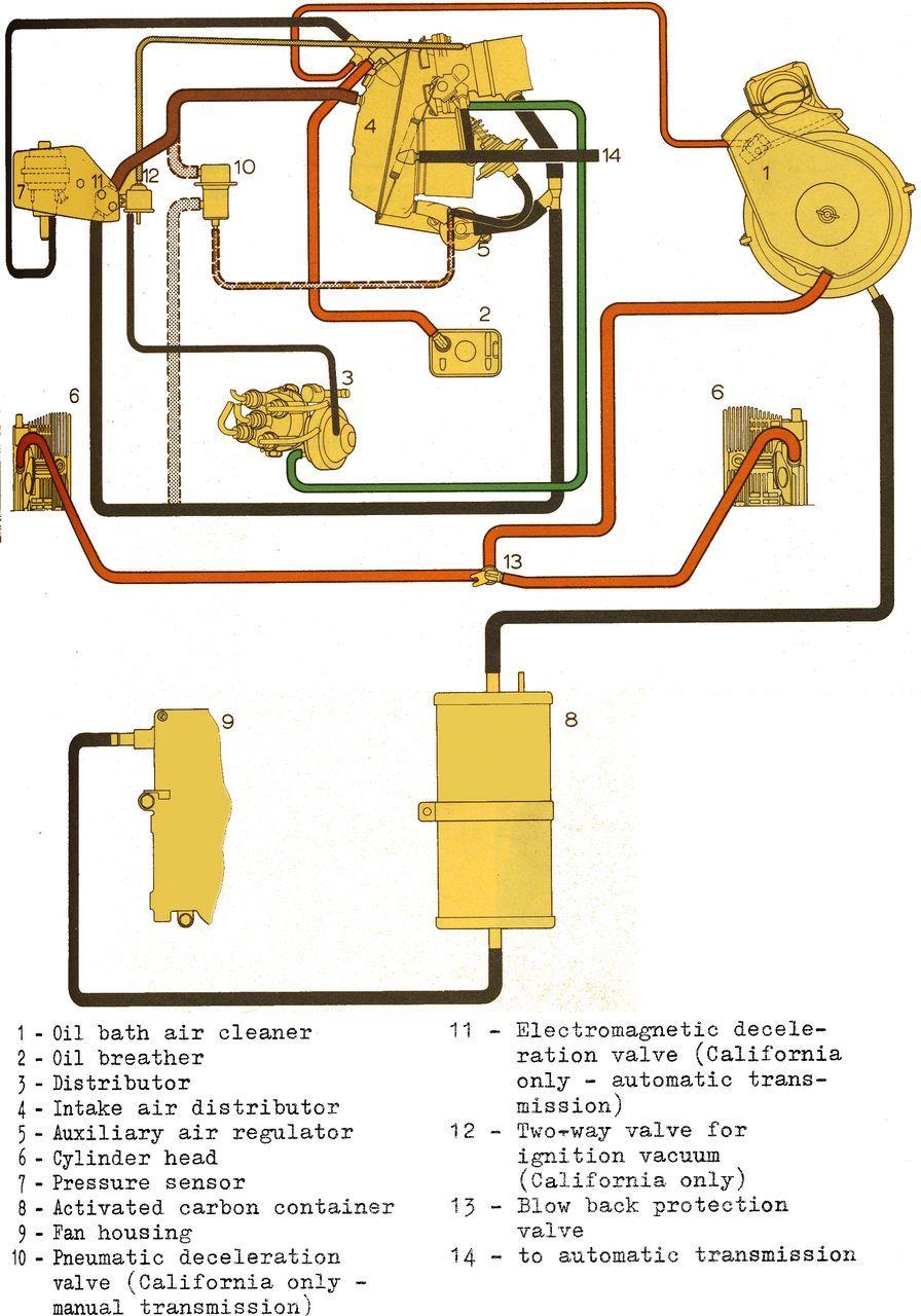 medium resolution of 73 914 porsche shoptalkforums com u2022 view topic type 4 iv 411 1974 vw beetle vacuum line diagram on 73 vw bug engine schematics