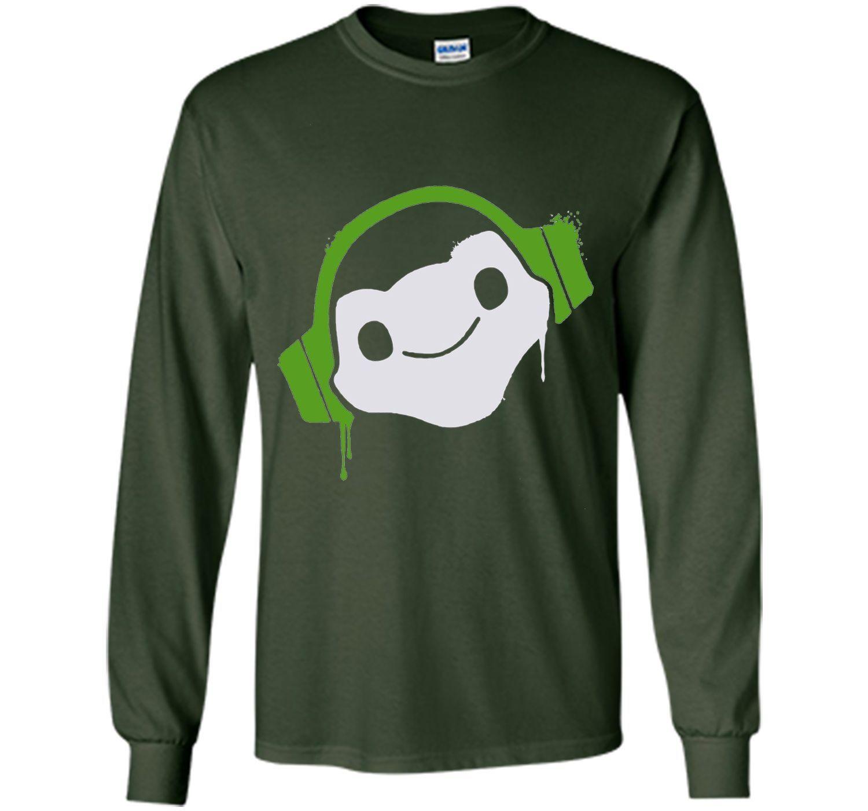 Overwatch Lucio Headphones Spray Tee Shirt