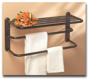 Oil Rubbed Bronze Towel Racks Towelracked Com Hotel Towels Towel Shelf Towel Rack