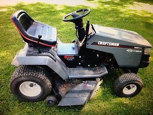 15 Hp Craftsmen Tractor Lawn Tractor Tractors Outdoor Power Equipment