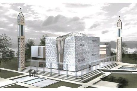 Modern mosques design