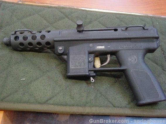 semi automatic machine pistol