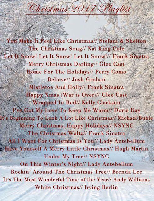 Christmas 2017 Playlist 2017 playlist, Favorite