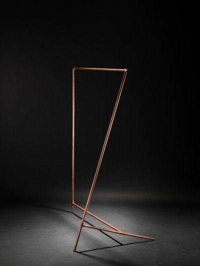 #DIY #Coat Rack / by Philipp Divitschek / #design #minimalist #copper #materials #product