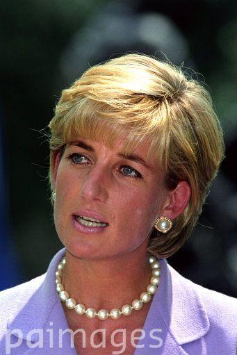 Princess Diana In Wedge Haircut | princess diana