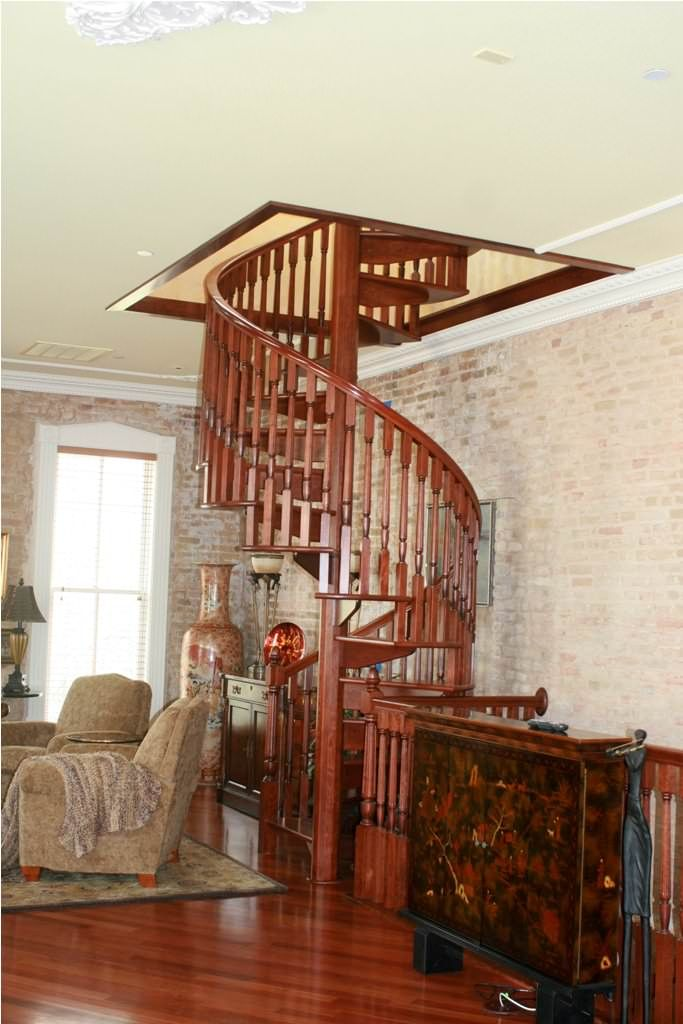 The Finest Design of circular staircase for Small Area Home