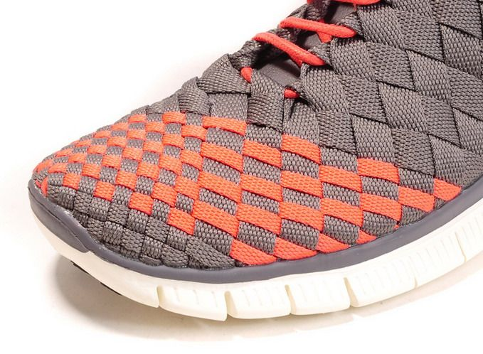 sports shoes 3a5f5 02b90 ... france mens nike free 5.0 inneva woven shoes orange grey ht for sale1  679 8937c fca90