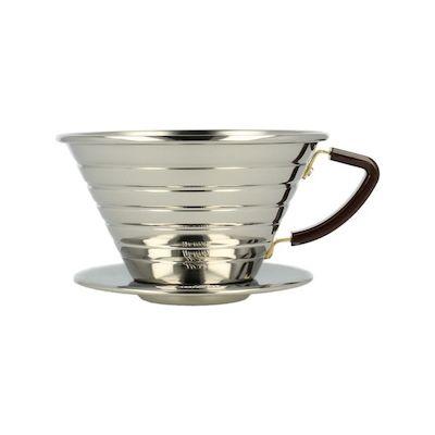 Kaffeefilter Edelstahl kalita wave dripper kaffeefilter edelstahl 185 wer die aromatik im