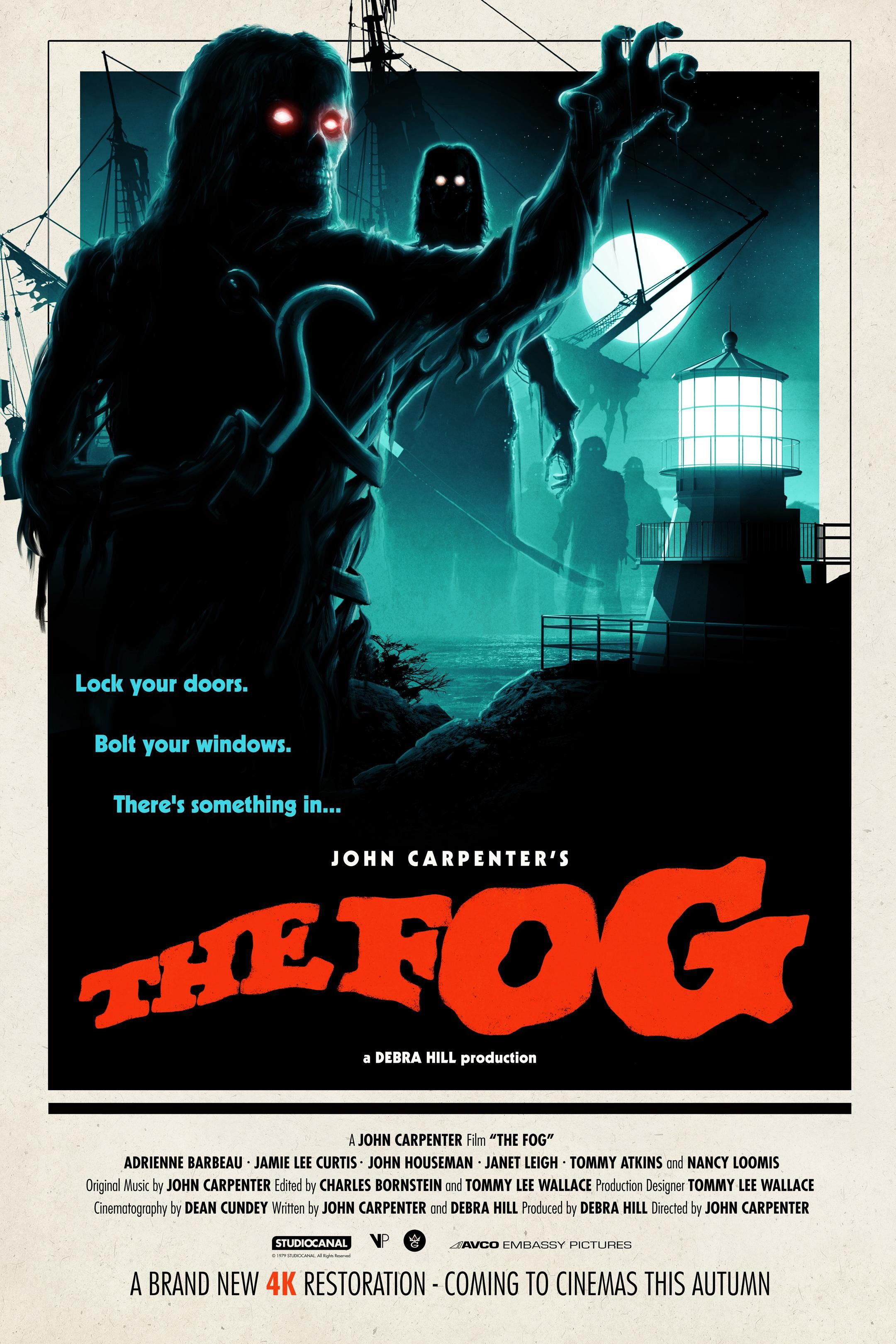 The Fog 1980 2160x3240 In 2020 John Carpenter 1980s Horror Movies Movie Posters