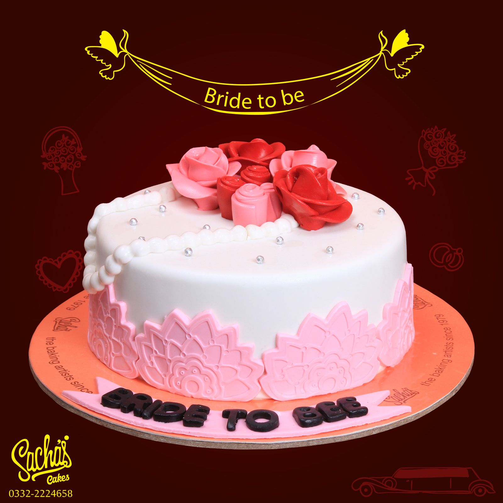 Bride To Be Cake For Brides Sachas Cakes