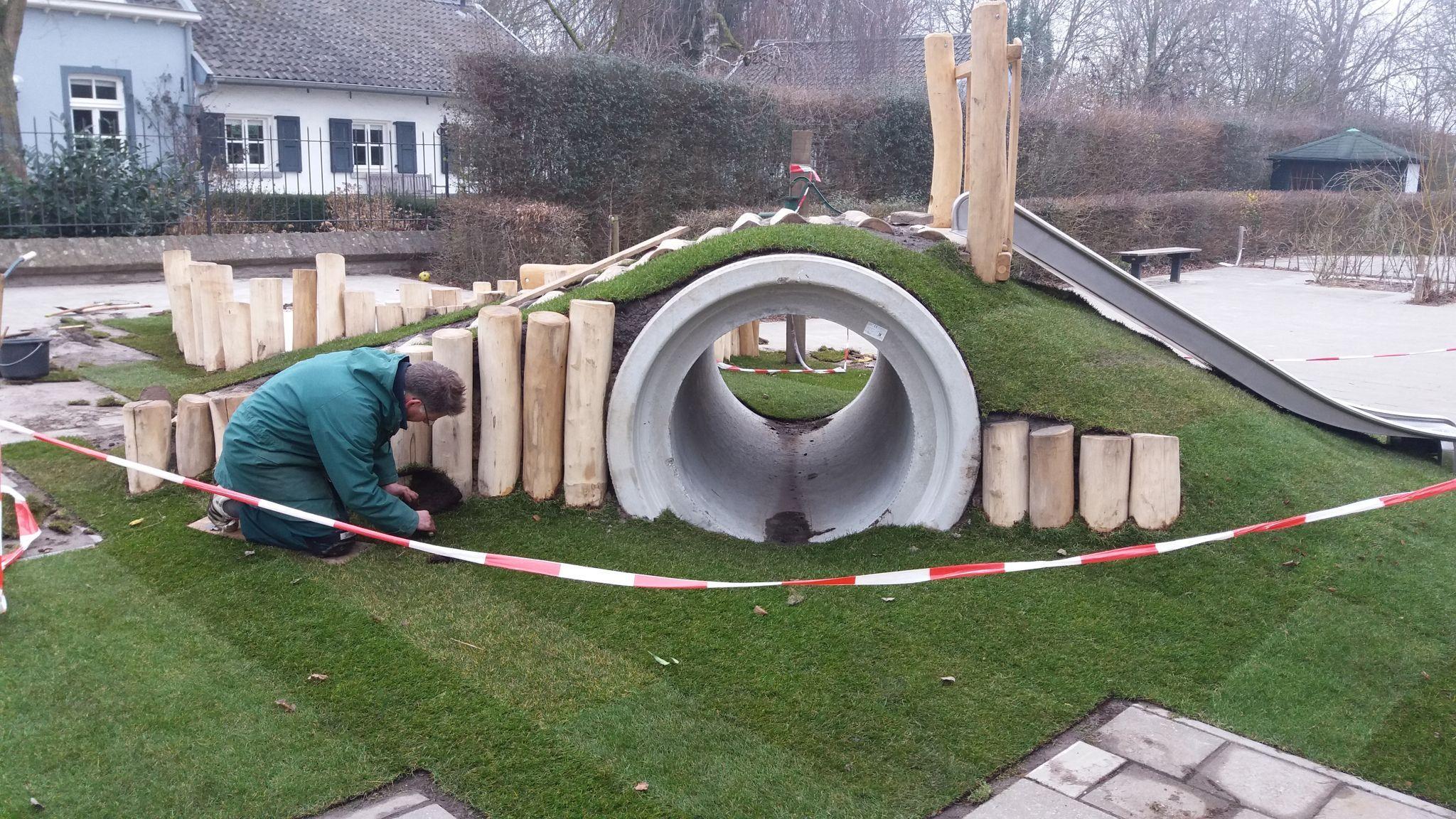 Photo of Groen es gras – Natuur-speelplaats ejército