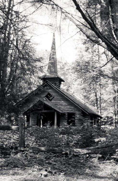 Abandoned chapel in the Adirondacks. | oh, the places you