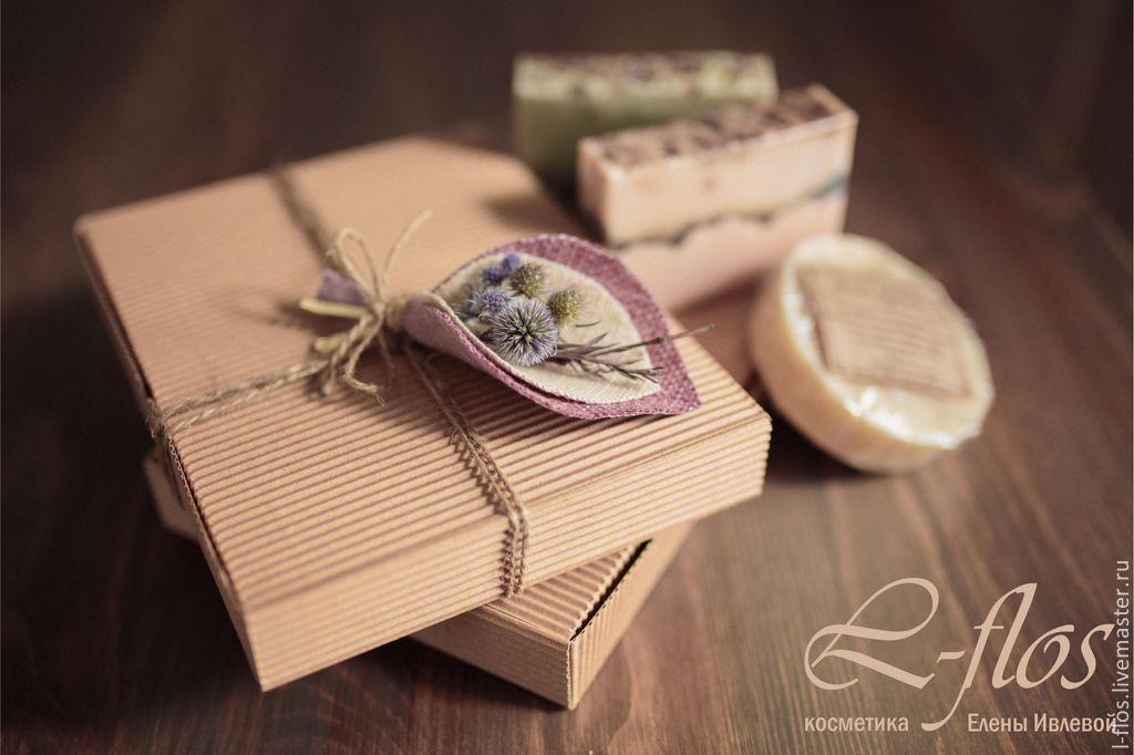 """Купить Подарочная коробка """"Природа"""" - сиреневый, подарочная коробка, подарочная упаковка, подарок, упаковка для подарка"""