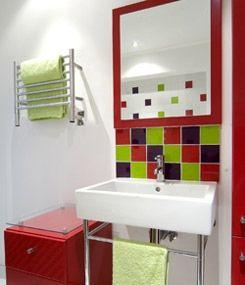 Calentador el ctrico de toallas complemento de gran for Calentador de toallas electrico