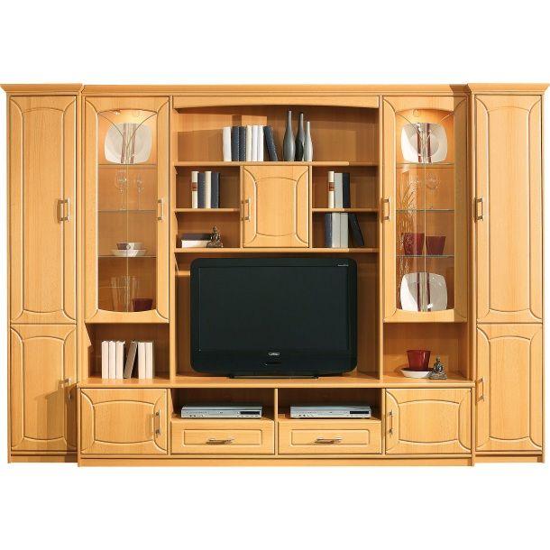 Superior Billig Wohnwände Buche Design Ideas