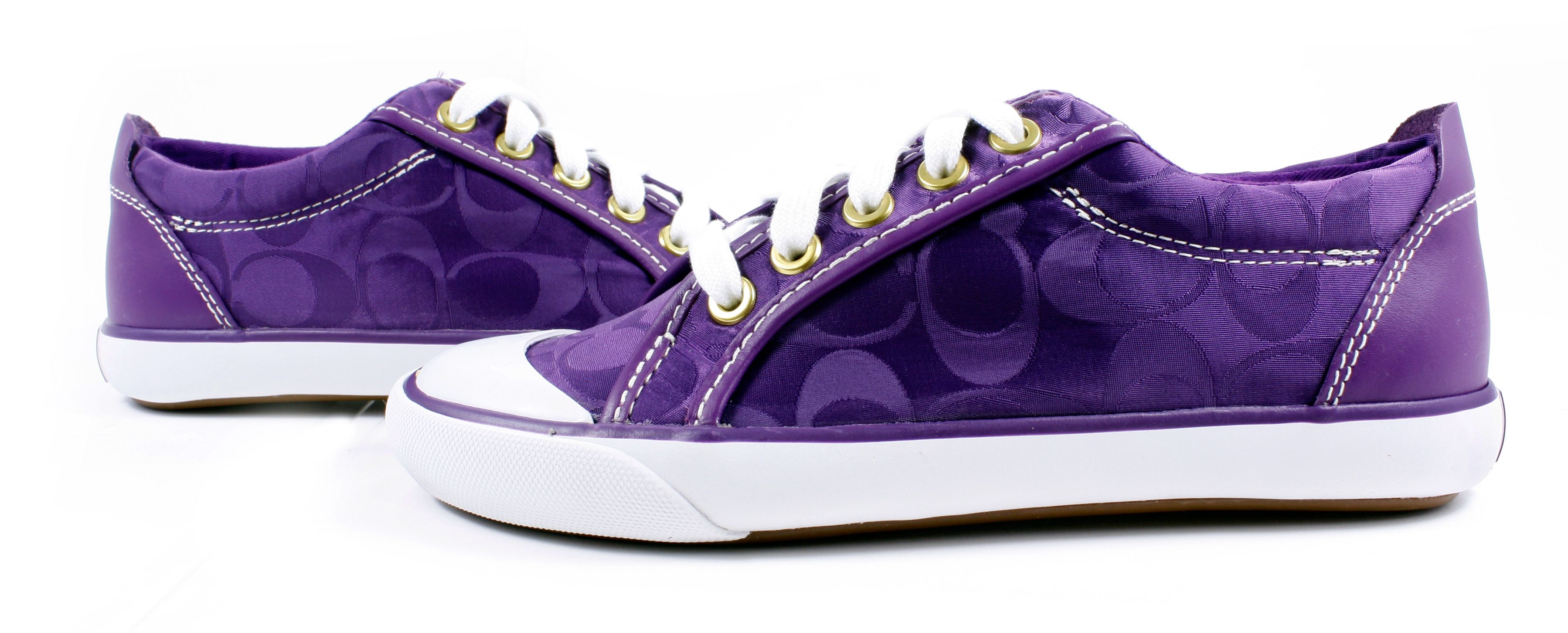 f1c9d3985df2b Details about New Coach BARRETT Signature Sneakers Lace-Up Tennis ...
