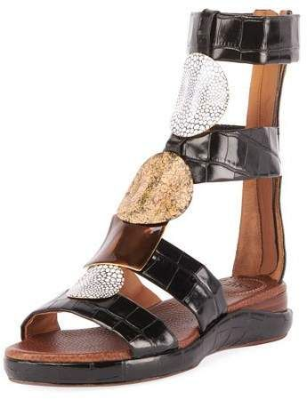 2b12a84d920b Chloé Wanda Flat Tall Gladiator Sandals