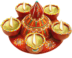 Modern Day Decorative Diwali Diyas For