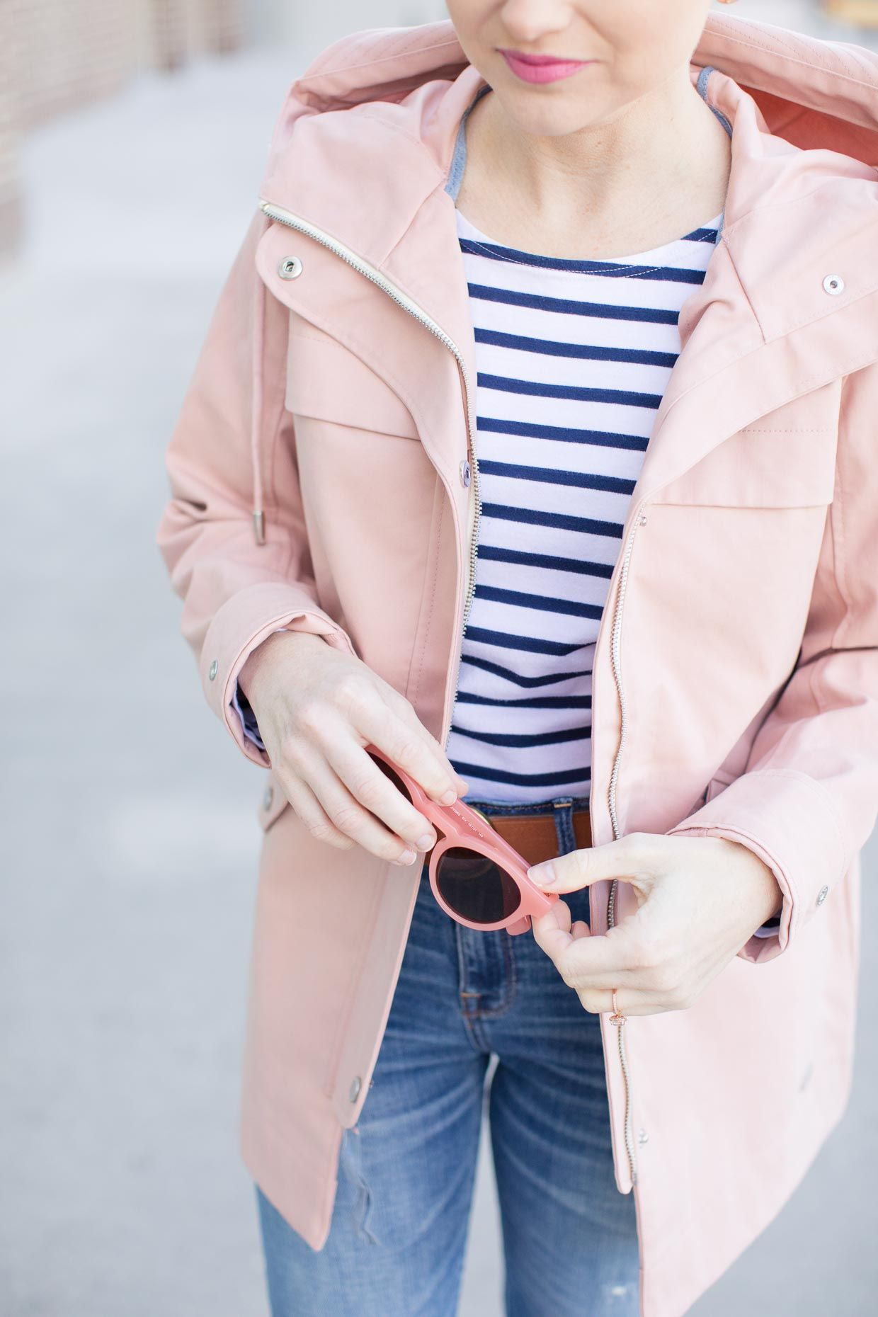 fashionablestyle wide varieties separation shoes Abercrombie Pink Classic Raincoat - Spring Style | Winter ...