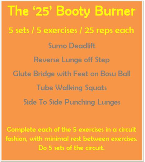 25 Booty Burner