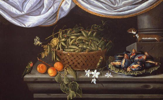 Spanish School (Valencia), Still Life with Bowl of Peas, 1660?