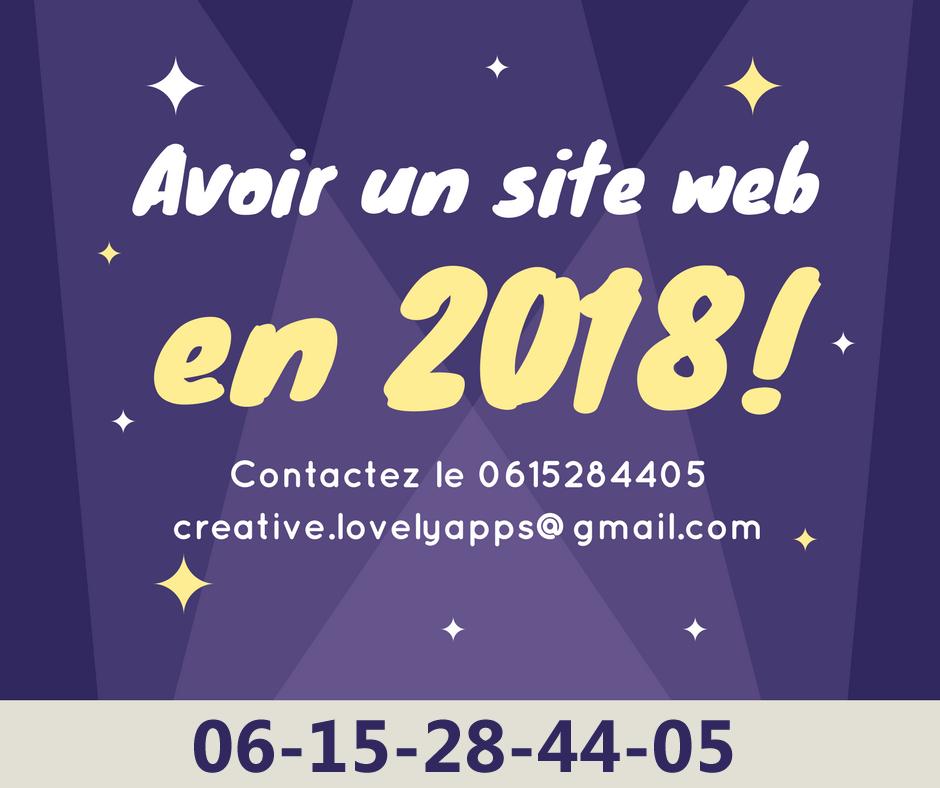 Offre Ramadan 2018 😍😍 Création de Site Web Professionnel
