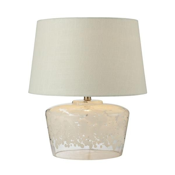 18 Flurry Frit Well Boutique Glass Table Lamp Glass Table Lamp Lamp Table Lamp
