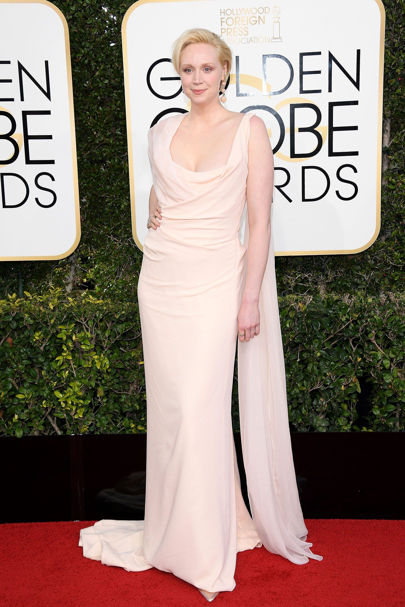 Roter Teppich Golden Globes Gwendoline Christine Looked Amazing In Her Vivienne Westwood Dress