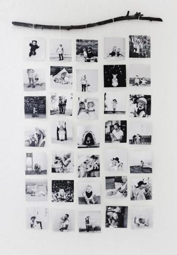 Haben Sie riesige Stapel von Fotos, die Sie gerne aufhängen würden, aber Sie haben keine Ahnung, wie Sie das auf schöne und originelle Weise tun sollen? Auf Pintere …