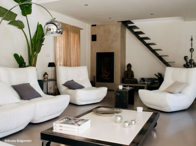 Idee deco salon design livingroom inspiration for Decoration maison salon tv