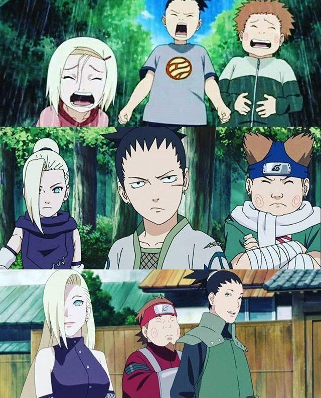 #naruto #ino #choji #shikamaru | Shikamaru, Naruto, Naruto ...