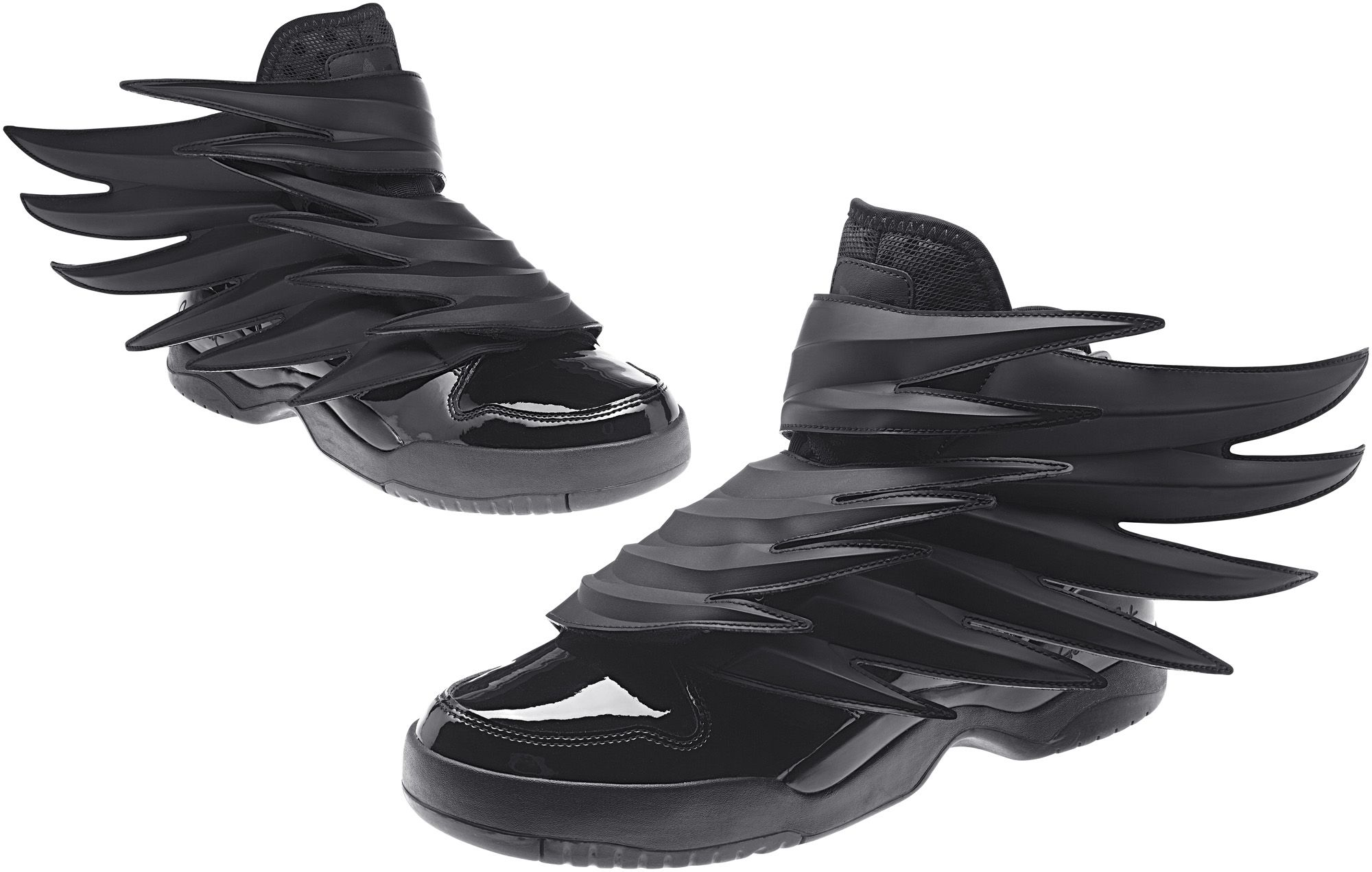"timeless design ca102 ce1e7 Adidas Originals x Jeremy Scott Wings ""Dark Knight"""