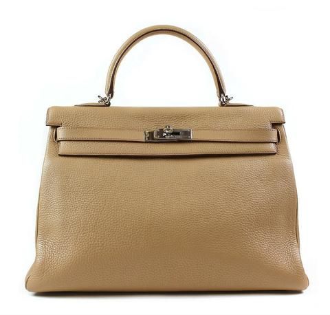 1520929a47 Hermes Kelly 35 in Tabac Camel Clemence leather - browse our full  collection!  baghunter