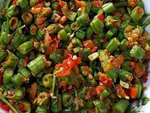 Bumbu Resep Dan Bahan Bahan Yang Dibutuhkan Untuk Membuat Pencok Kacang Panjang Resep Masakan Resep Masakan Indonesia Memasak