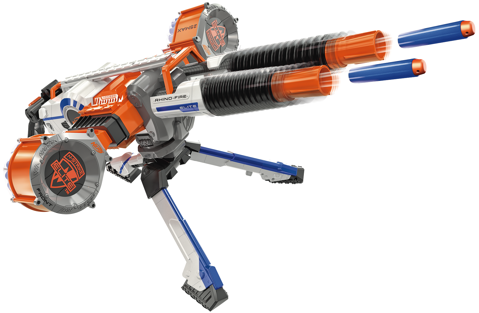 NERF Machine gun barrel
