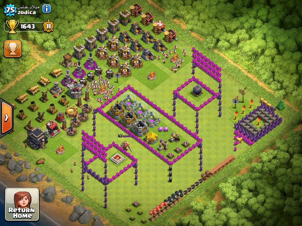 Map Clash Of Clans 3D map | Clash of clans | Clash of clans, Games