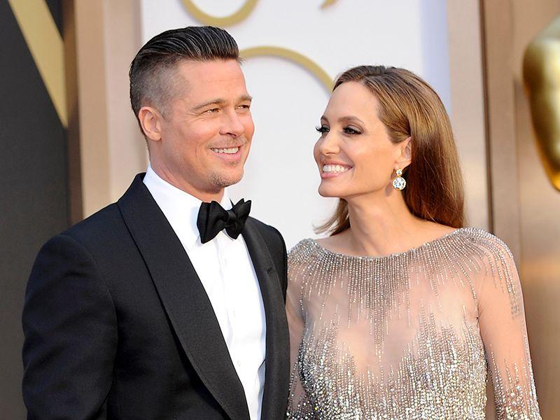 Angelina Jolie Brad Pitt Split Their Past People Covers Before
