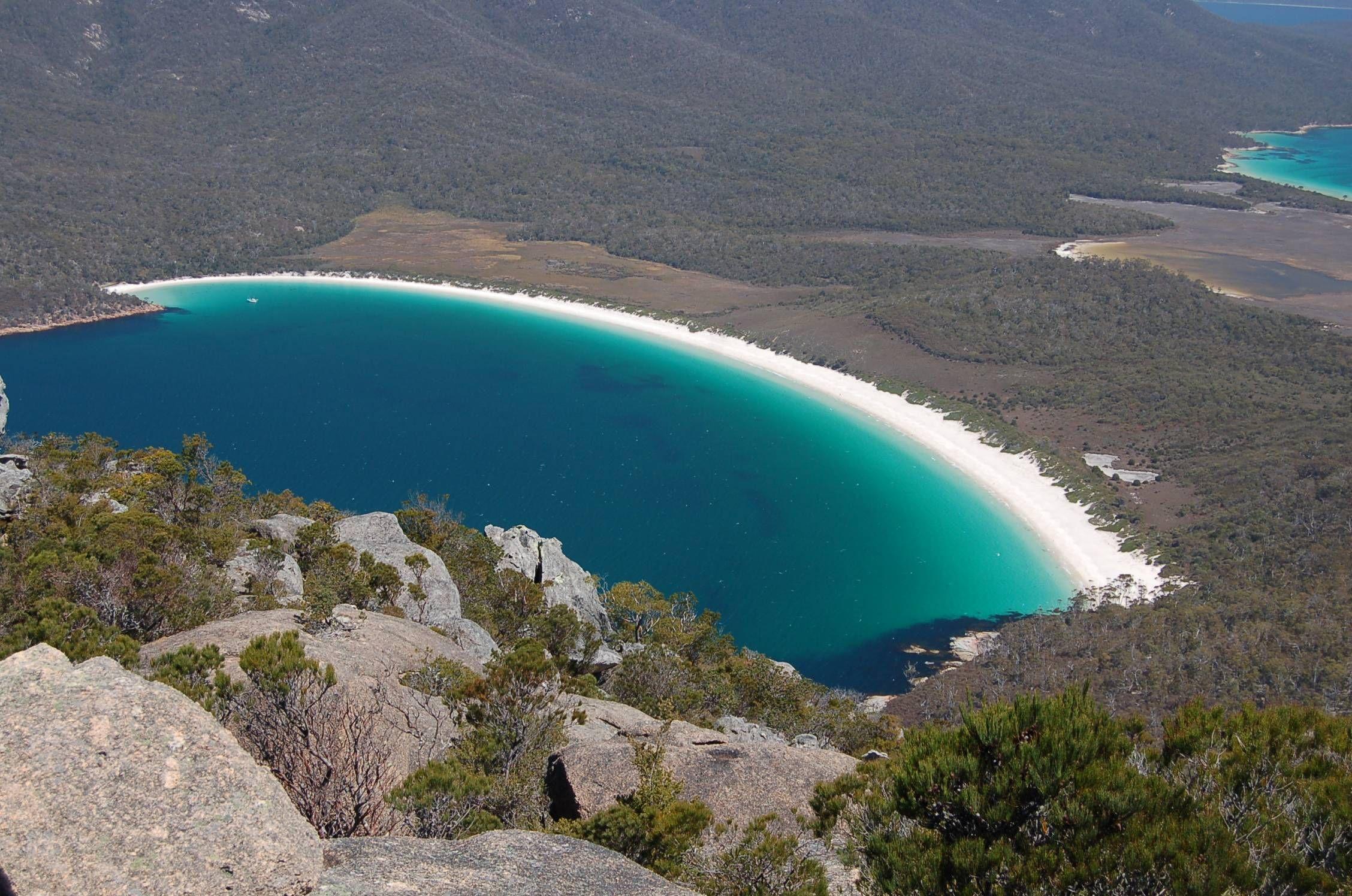 Wineglass Bay Freycinet National Park Tasmania Wallpaper   Desktop ...