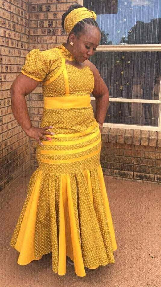 Shweshwe Designs 2018 For Women African Outfit