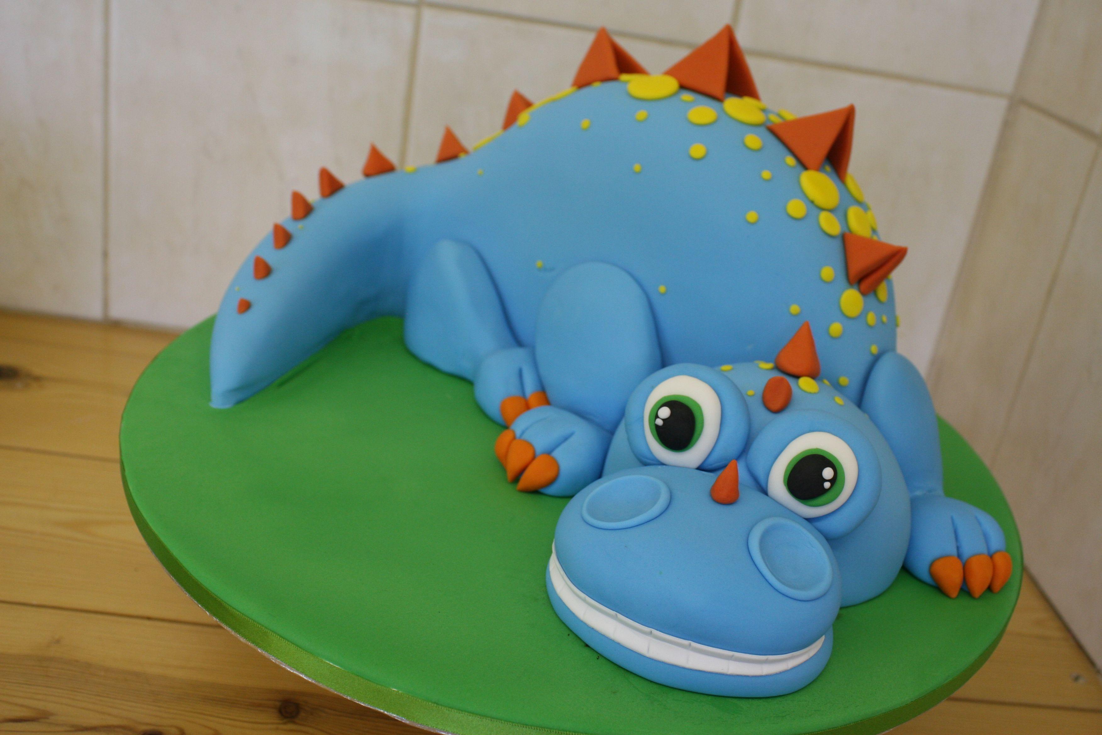 Party Cakes, Cake, Dinosaur Cake