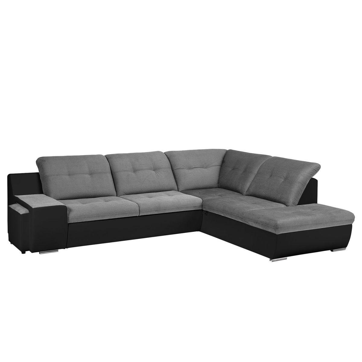Bezaubernd Sofa Mit Ottomane Und Schlaffunktion Das Beste Von Ecksofa New Rockford I Kunstleder/microfaser - -