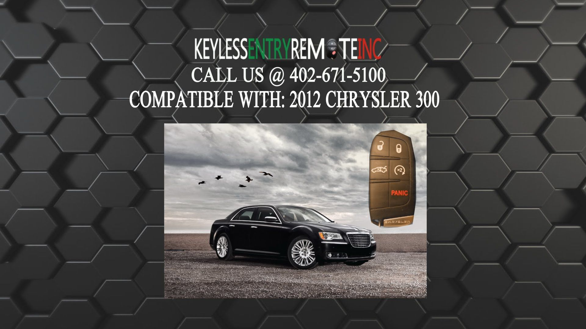 How To Replace Chrysler 300 Key Fob Battery 2012 Chrysler 300