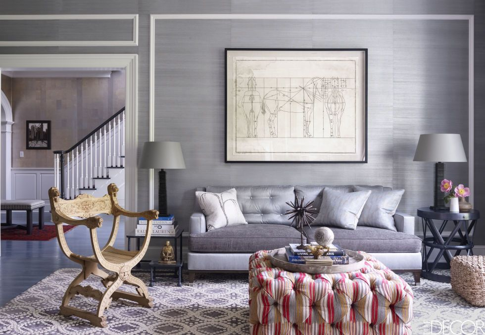 9 Wall Decorations That Enchant Upon First Glance Family Room Design Elle Decor Room Design