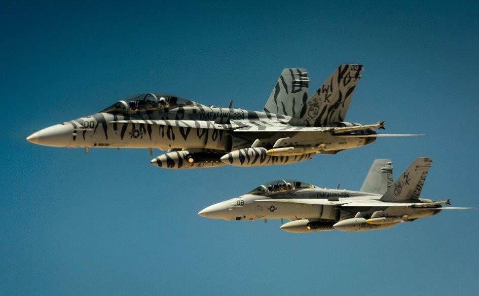 Минобороны будет считать все самолеты США над Сирией ...