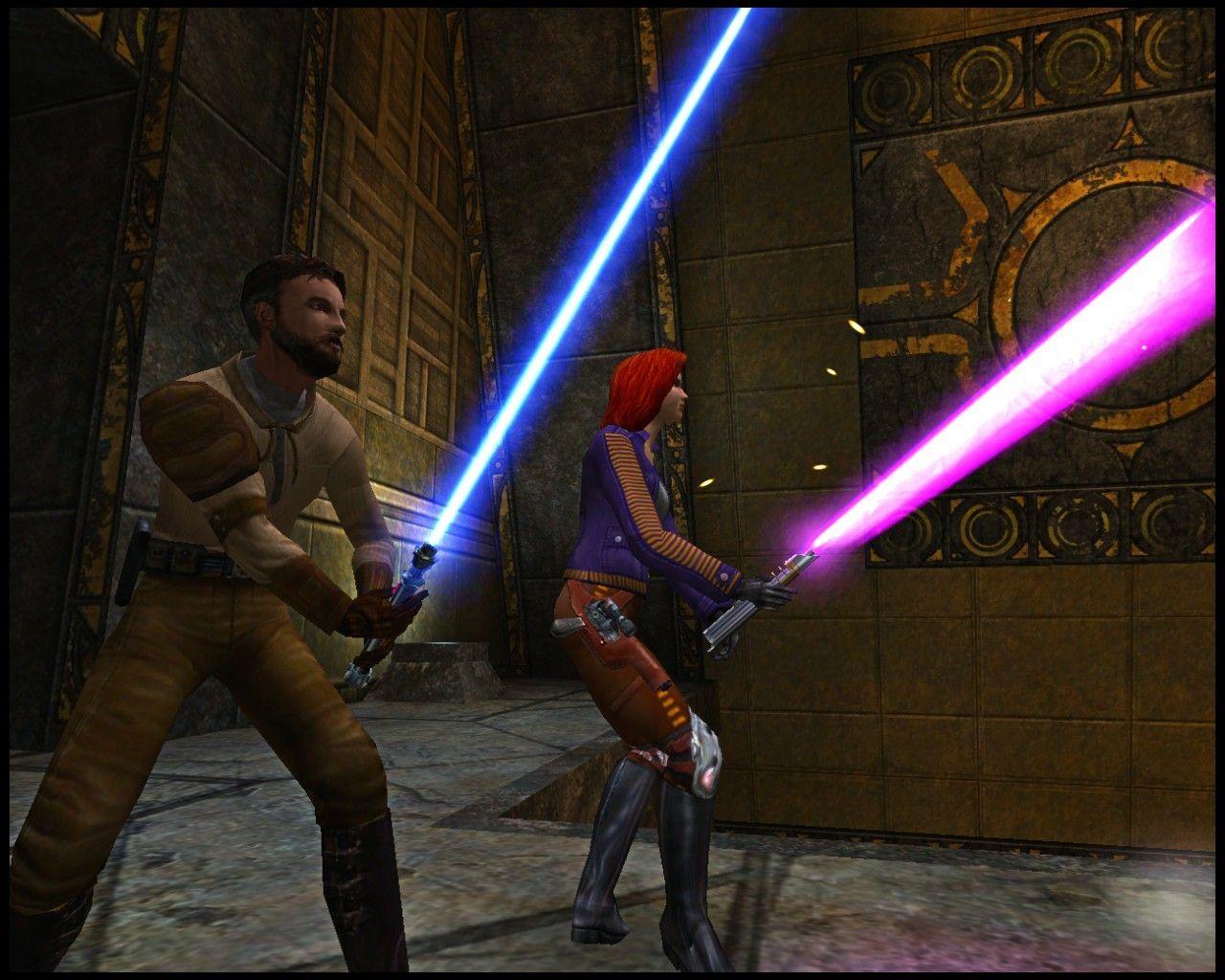 Mara Jade And Kyle Katarn In Star Wars Jedi Knight Ii Mysteries