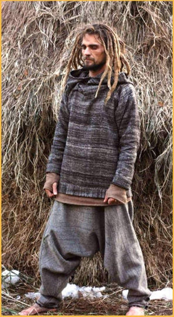 Grey Pullover • made of Handwoven Himalayan Wool