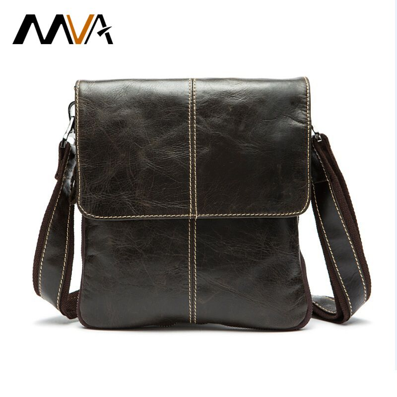 MVA Genuine leather men bag fashion crossbody Leather bag men ...