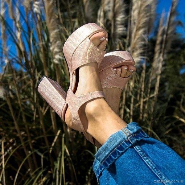 eecf75e10d84e La marca de calzados Paloma Cruz lanzo su coleccion primavera verano 2019.  Una propuesta con